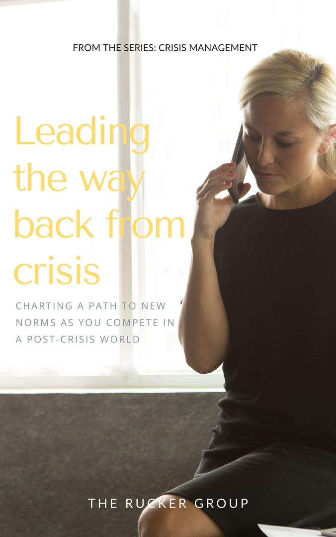 Leading the Way Back From Crisis