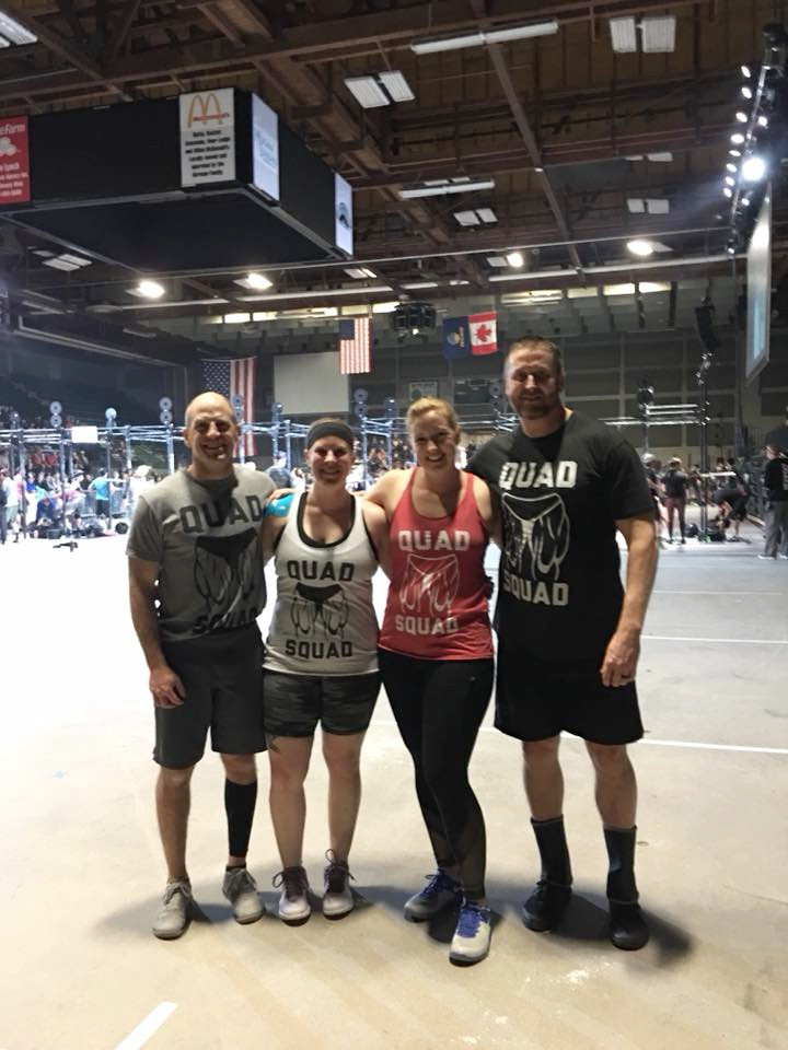 """Paige and """"The Quad Squad"""" at Hypoxia 2017"""