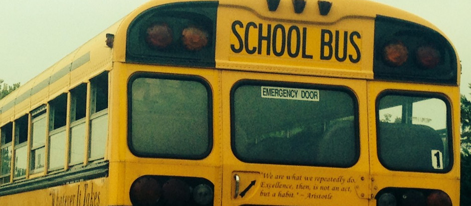 Little Thunder: School Buses, Bullies and Nicknames