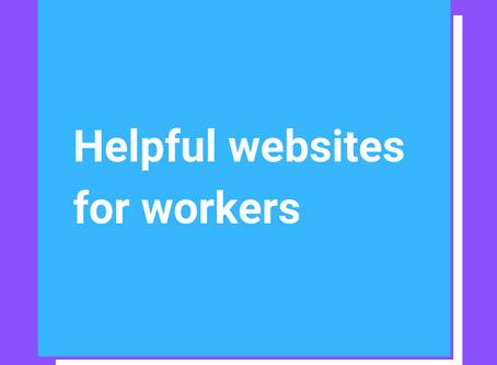 Helpful websites for workers