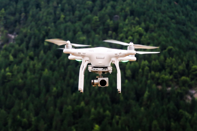 Drones used to find water for Farmers