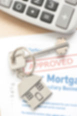Mortgage Approved Loan Document With Hou