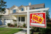 Sold Home For Sale Real Estate Sign in F