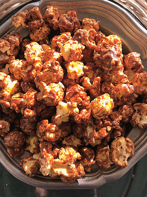 Buttery Chocolate Popcorn