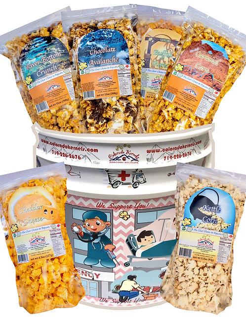 First Responders Savory/Delight Popcorn Bucket