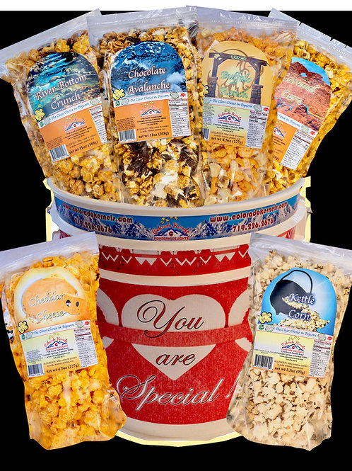 You Are Special Savory/Delight Popcorn Bucket