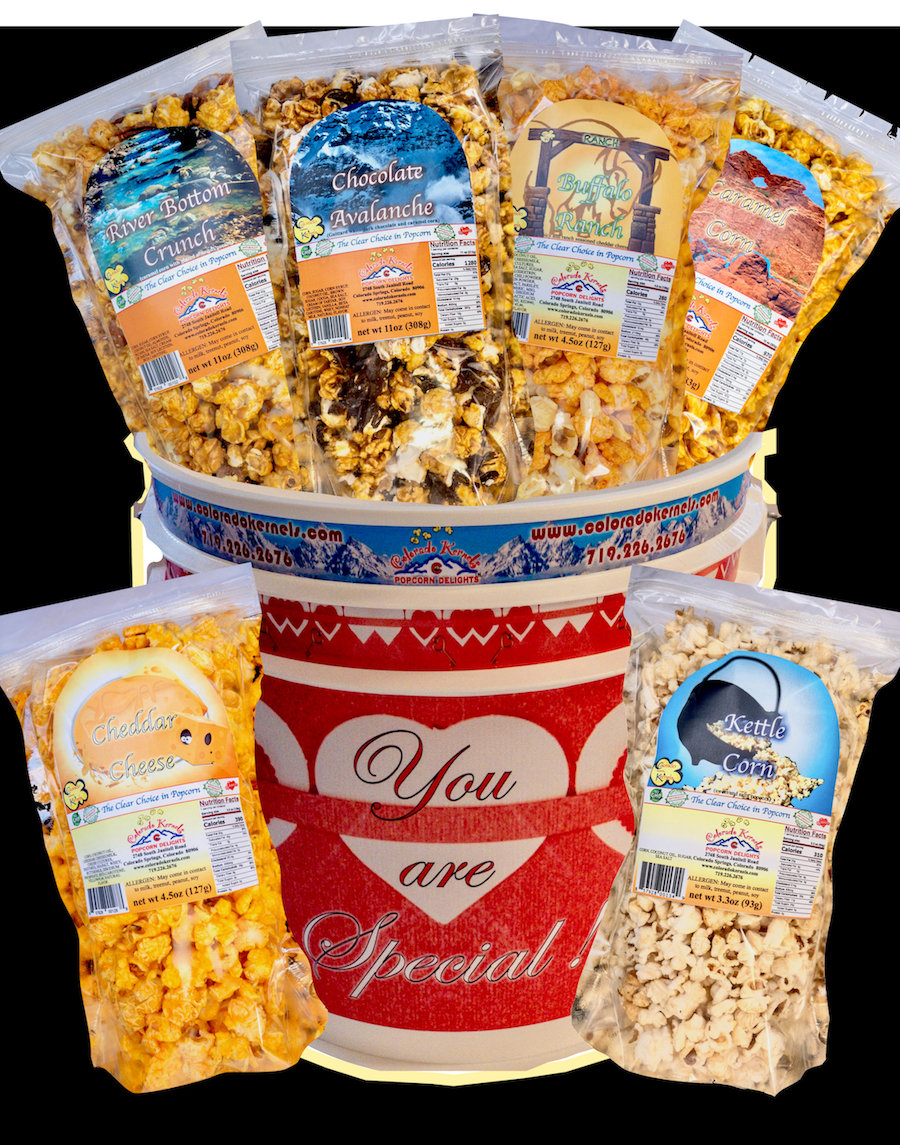 You Are Special Birthday Delight Popcorn Bucket Colorado Kernels
