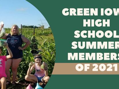 Green Iowa AmeriCorps High School Summer Members of 2021: Bhoomika Shettigar
