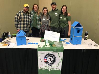 Women in STEM: Green Iowa Americorps Goes Beyond the Microscope