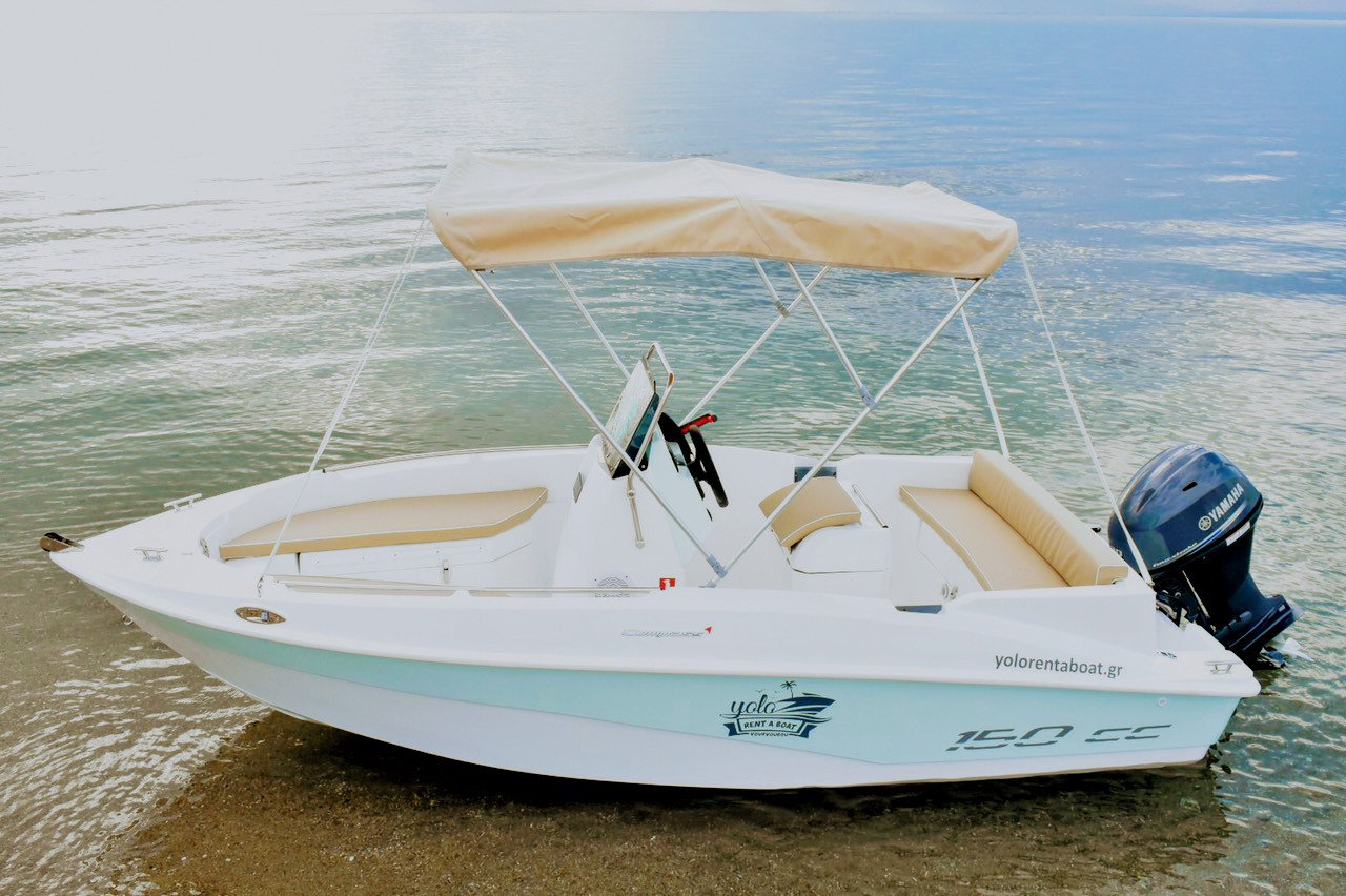 Daily boat rental