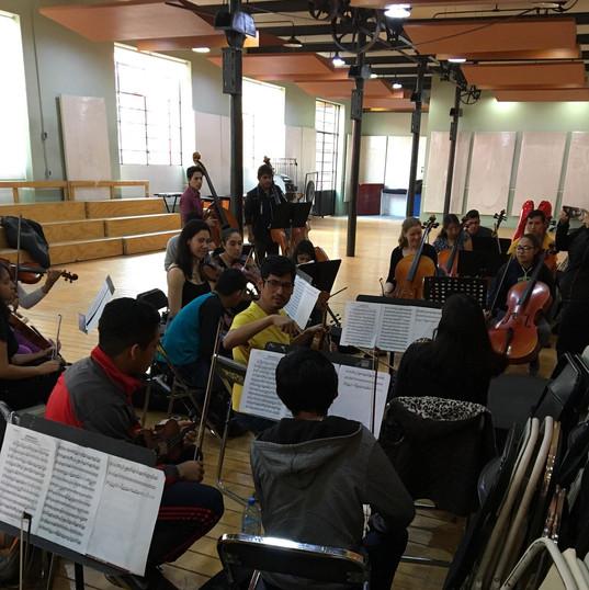 More rehearsals in Puebla