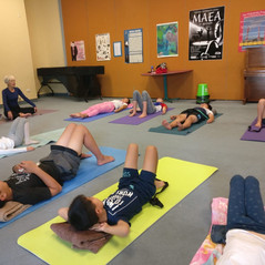 Morning Yoga class with Margaret Collins