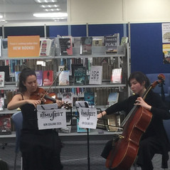 Student concert at the library