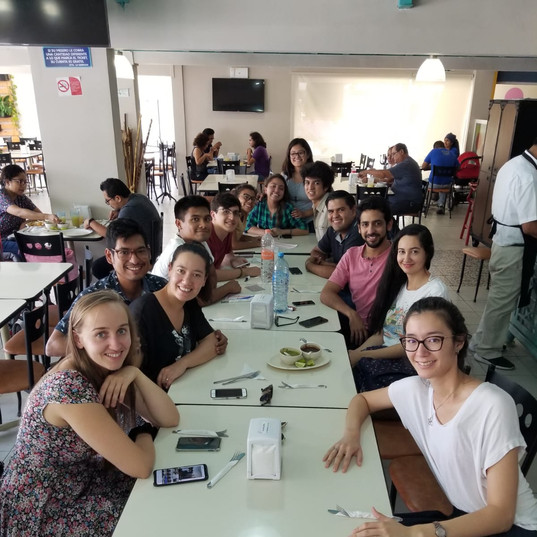 Lunch with the RimuFest students