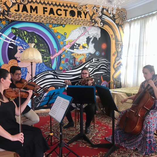 Jam Factory Faculty concert