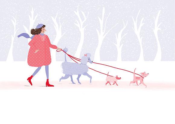Dog walk, '19_