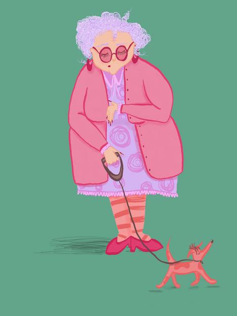 Pink Granny.