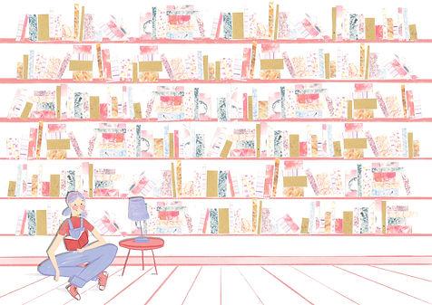 Spend time in lovely bookshops.