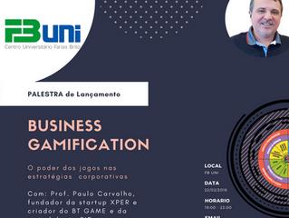 Palestra Business Gamification em Fortaleza