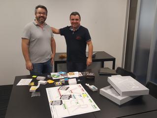Apresentação do BT GAME no CUBO em SÃO PAULO