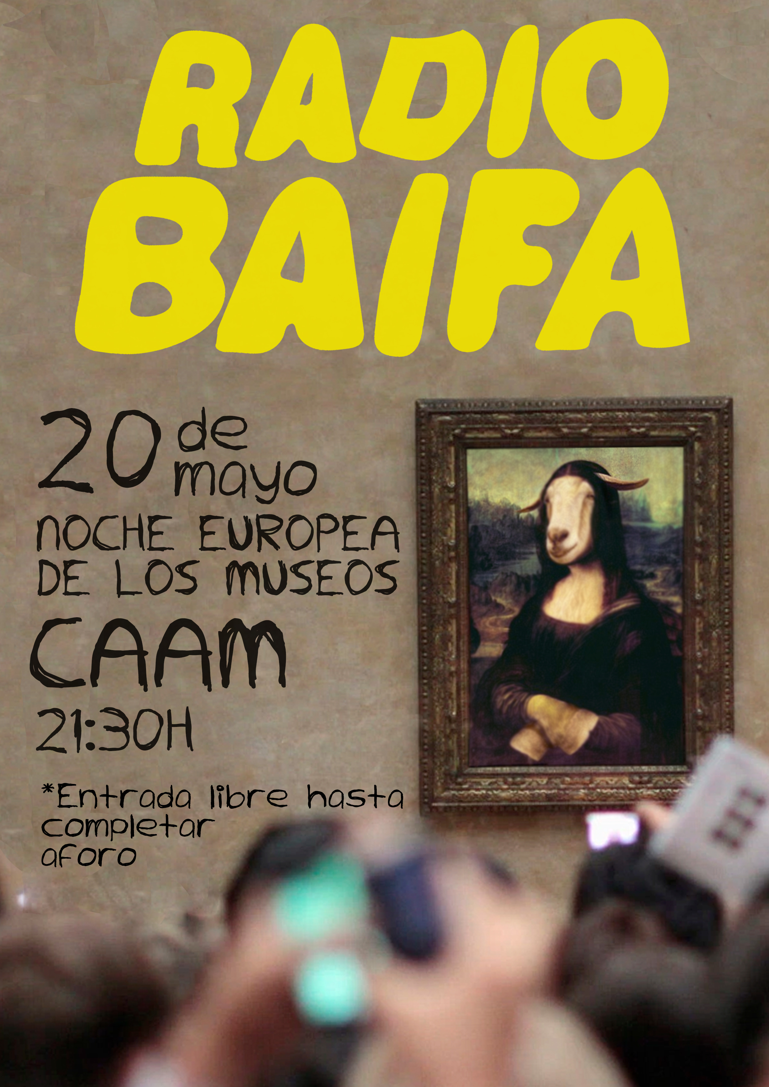 Radio Baifa en el Caam