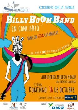 BILLY BOOM BAND 2016
