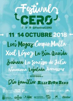 FESTIVAL CERO 2018