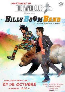 Billy Boom Band 2017