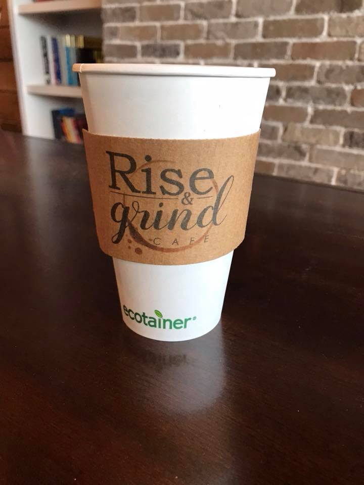 Rise & Grind Cup and Holder