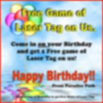 Free Game of Laser Tag