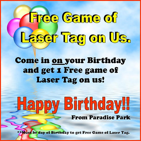 Free Game of Laser Tag