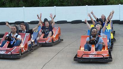 Go Kart team race