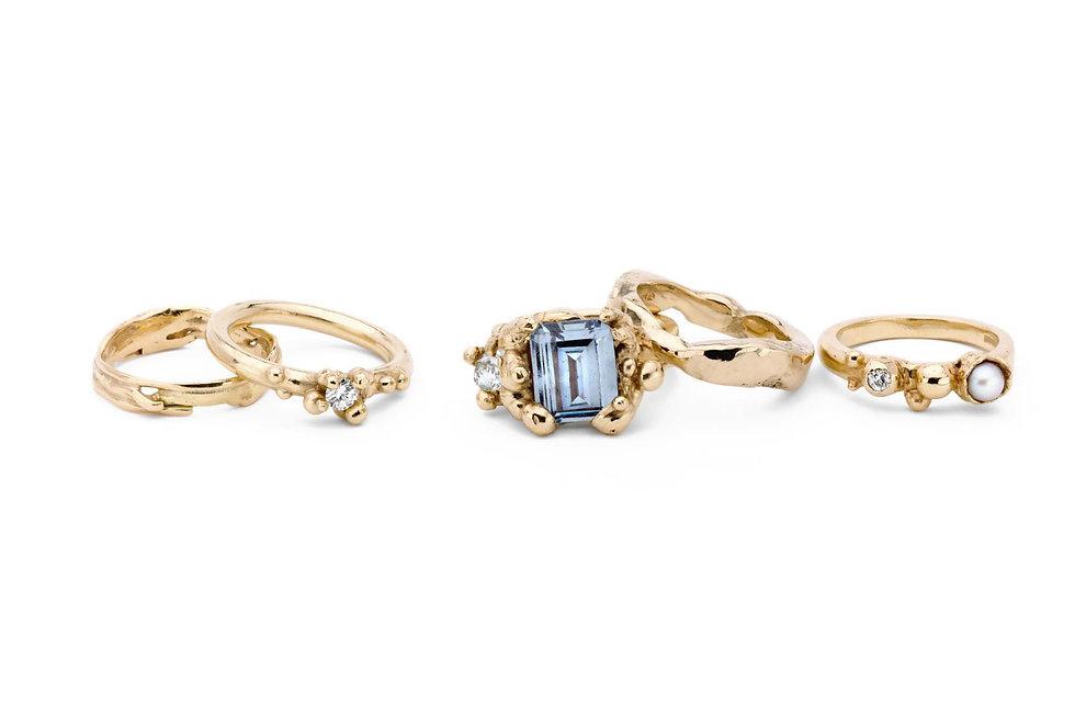 handcrafted jewellery by Caroline McInally.