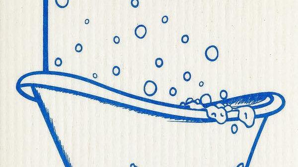 Bath Time Blue