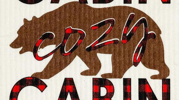 Cozy Cabin Bear