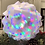 Thumbnail: INFINITY LIGHT Medium Shimmer and Galaxy Spin Bulb! (lamp pieces, bulb and cord)
