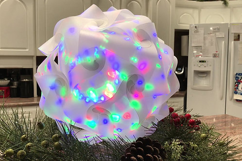 INFINITY LIGHT Medium Shimmer and Galaxy Spin Bulb! (lamp pieces, bulb and cord)