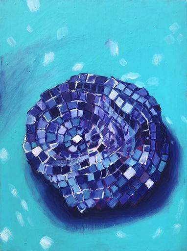 Disco Study in Turquoise