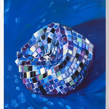 Disco Study in blue