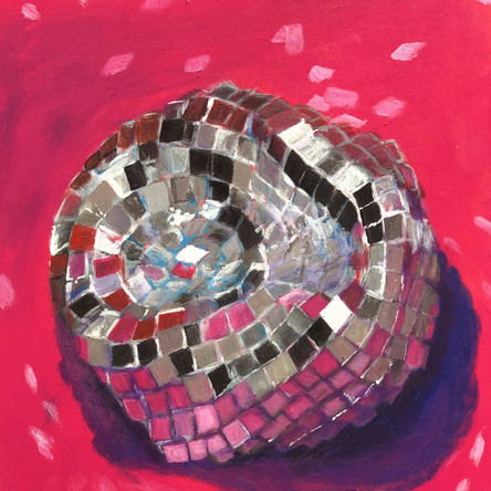 Disco Study in pink