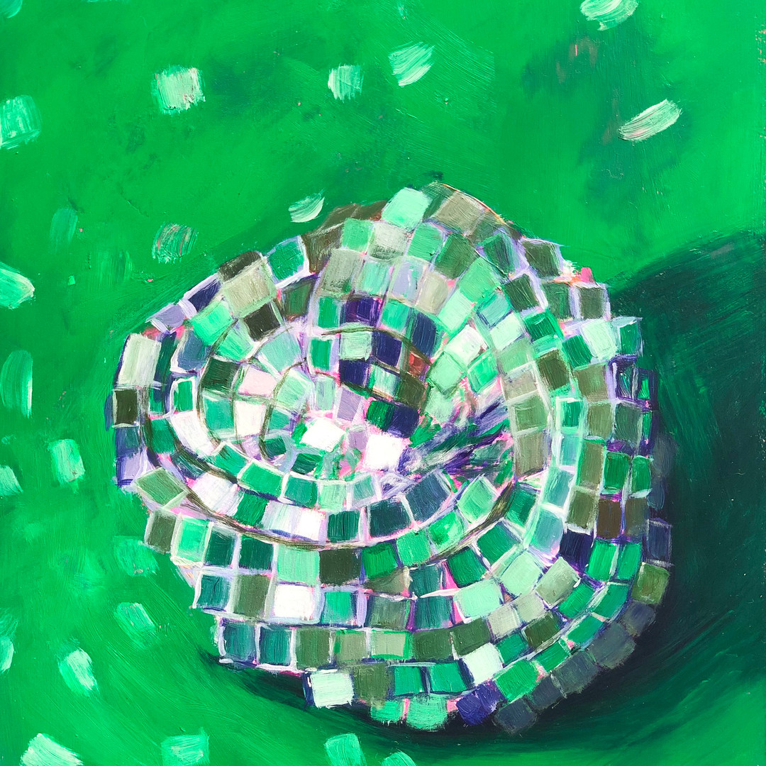 Disco Study in Green