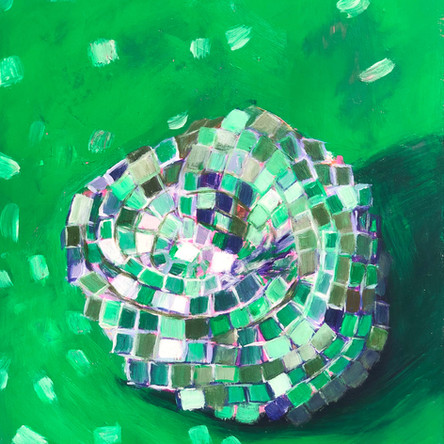 Disco Study in Green