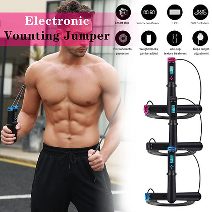 Digital Calorie Counting Skipping Rope