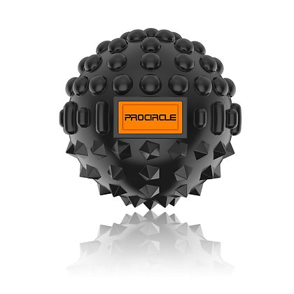 ProCircle Massage Ball 8cm - Great For Deep Tissue Self-Myofascial Release