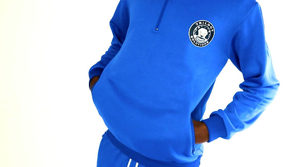 Royal Blue 1/4 Zip Pullover
