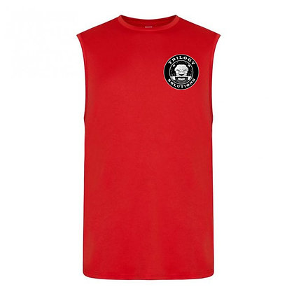 Scarlet Red Muscle Tank