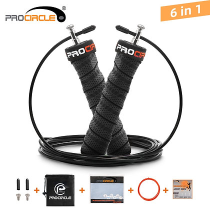 Crossfit Speed & Weighted Jump Rope With Extra Speed Cable Ball Bearings