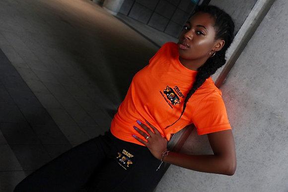 Electric Orange Performance T-Shirt