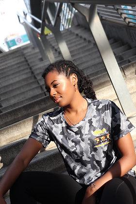 Women's Charcoal Camo T-Shirt