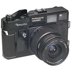 Appareil photo argentique Fuji GSW690 Pro